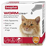 Easy-to-use spot-on Kills all types of tapeworms Contains vet strength Praziquantel Suitable for cats and kittens weighing more than 1kg UK authorised veterinary medicine
