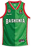 Baskonia KELME 2º Equipacion Camiseta, Adultos Unisex, Verde, XXL