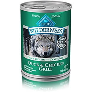 Customer reviews Blue Buffalo Wilderness Grain Free Canned Dog Food, Duck And Chicken Grill (Pack Of 12 12.5-Ounce Cans):Eventmanager