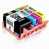 LEMERO 903XL 903 XL Alto Rendimiento Cartuchos de Tinta Compatible para HP OfficeJet Pro 6860 6868 6960 6970 6975 6978 6950 All-in-One Impresora,4 Pack (Nuevas fichas en Abril)