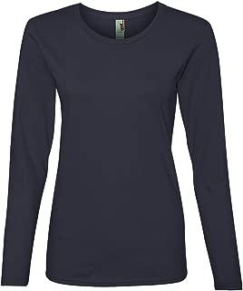Anvil Ladies' Lightweight Long-Sleeve T-Shirt