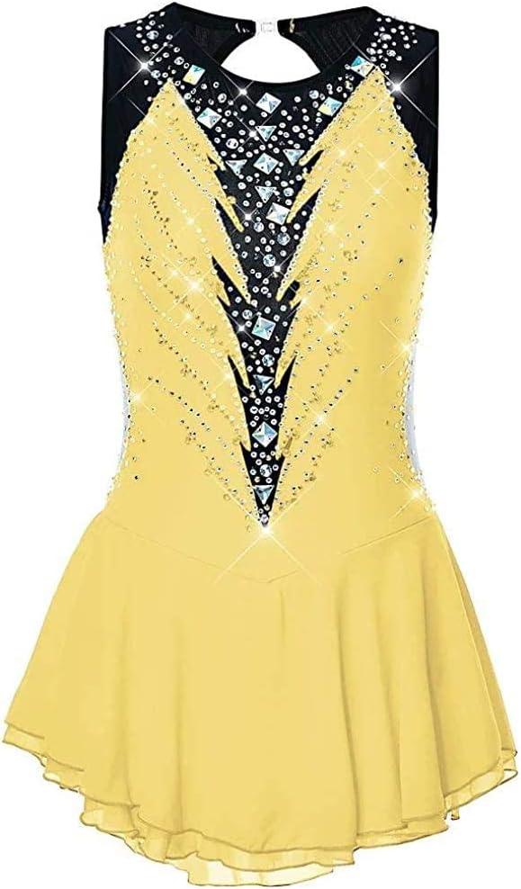 Today's only SHANGN Figure Skating Dress Luxury Dance Rhythmic Wear Leota Gymnastics