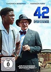42 - Baseball Film einer Legende auf DVD und Blue-Ray + Gewinnspiel