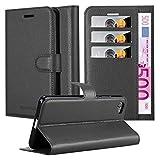 Cadorabo Funda Libro para Sony Xperia Z5 Compact en Negro Fantasma - Cubierta Proteccíon con Cierre Magnético, Tarjetero y Función de Suporte - Etui Case Cover Carcasa