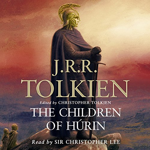 The Children of Hurin audiobook cover art