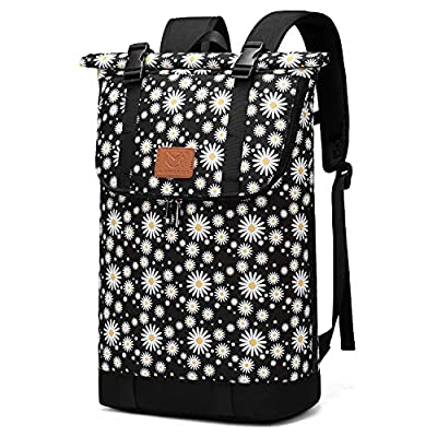 Amazon - 70% Off on Travel Hiking Backpack, 30L Roll-top Camera Daypack, Fit 15.6 Inch Notebook