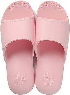 House Slippers, Bath Slipper for Women and Men, Bathroom Shower Sandals Gym Anti-Slip Slippers,Pink,S