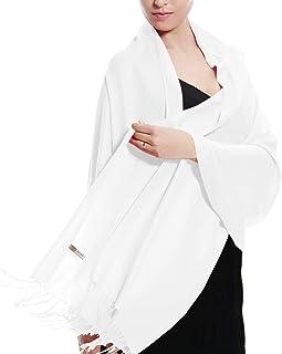 Pashmina Large Soft Plain Shawl/Wrap/Scarf for Women