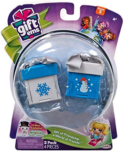 Gift Ems Holiday 2 pack Gift of Friendship a World of Friends Exclusive Series 3