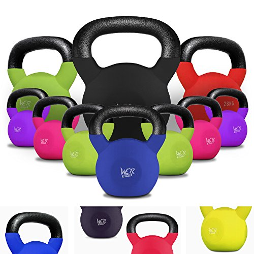 We R Sports Kettlebell in Gomma Home Gym (32 chilogrammi)