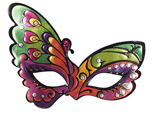 Alsino Halloween Maske Zombie Spooky Mask Horrormaske Gruselmaske, Variante wählen:P973043-2