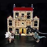 Kit De Iluminación Led para Lego Jurassic World Indoraptor Rampage at Lockwood, Compatible con Ladrillos De Construcción Lego Modelo 75930(Juego De Legos No Incluido)