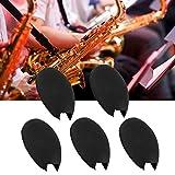 Cerlingwee Cubierta de Dedo de saxofón, sin Almohadilla de Dedo de saxofón de Olor Peculiar, Alivia la presión de los Dedos Mano de Obra Fina para saxofón Principiante