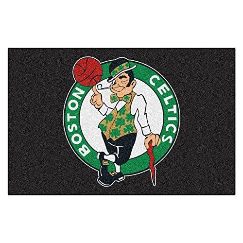 FANMATS 11900 NBA Boston Celtics Nylon Face Starter Rug , 19'x30'