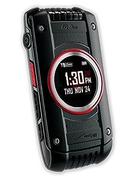 Casio G zOne C781 Ravine 2 Verizon Cell Phone / Rugged Flip Phone / Black