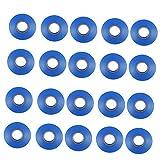 joyMerit Gardening Grape Branch Tape Für Pflanzentapener Bindemaschine Rot/Blau/Weiß - Blau