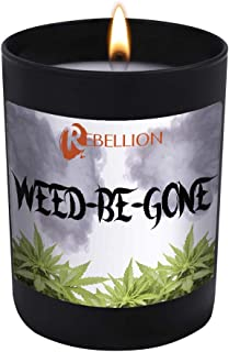 Weed-Be-Gone - When You Have to Hide The Smell of That Good-Good - 11 oz Natural Soy Hand Poured Candle Made in The USA