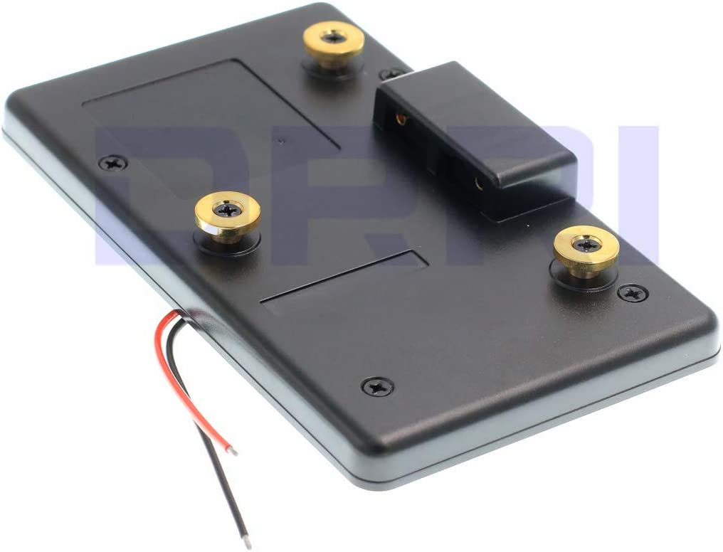 DRRI Battery Pack Adapter Plate for Anton Bauer Mount Battery DSLR Rig D-Tap A-GP