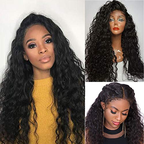 Closure Wig Human Hair Water Wave 4 By 4 Lace Closure Wig For Women Pre Plucked With Baby Hair Unprocessed Virgin Hair High Density Glueless Best Black Same Day Delivery 24 Inch …