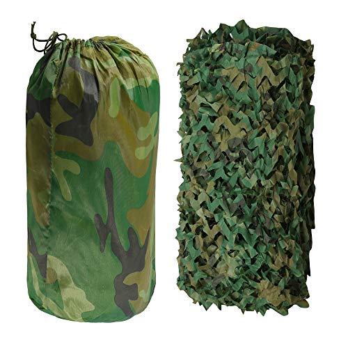 Hengda 3 x 1.5M Red De Camuflaje, Ejército Caza Militar Malla de Camuflaje Militar del Bosque para Acampar Campo Sombrilla Decoración De La Tema Cubiertas del Coche