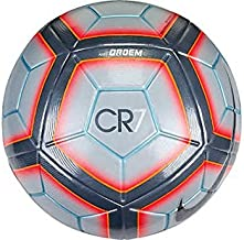 Nike Ordem 4 CR7 - Official Match Ball Soccer Ball Grey / Total Crimson / Metallic Hematite