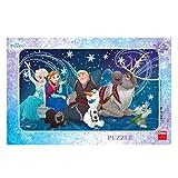Dino Toys 301290 Disney - Puzzle con Marco, diseño de Frozen