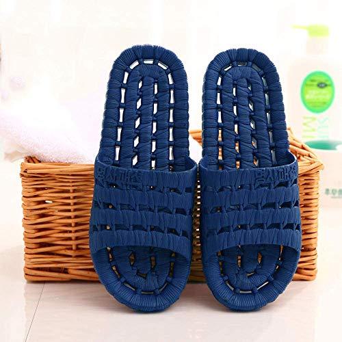 Cxcdxd Herren Flip Flops Pantoletten Leichte Hausschuhe, rutschfeste Massageschuhe für das Badezimmer, trockene Open-Air-Sandalen für Herren und Damen mit offener Sohle, Pediküre-Schuhe für den I