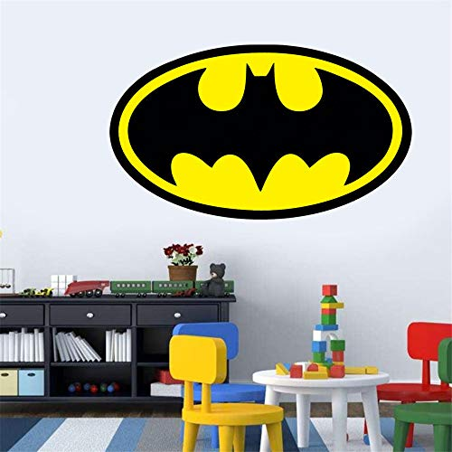 Wandaufkleber Batman wandtattoo Superheld Batman Silhouette Cartoon Für Kinderzimmer Schlafzimmer Wohnkultur