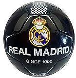 REALMADRID Real Madrid Balón de fútbol Unisex niños, negroTalla 5