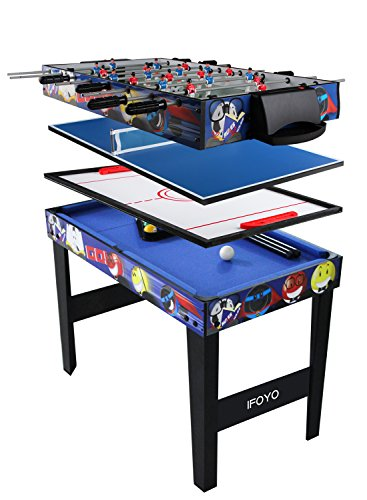 IFOYO Multi Function Combo Game Table, Steady 4 in 1 Pool Table...