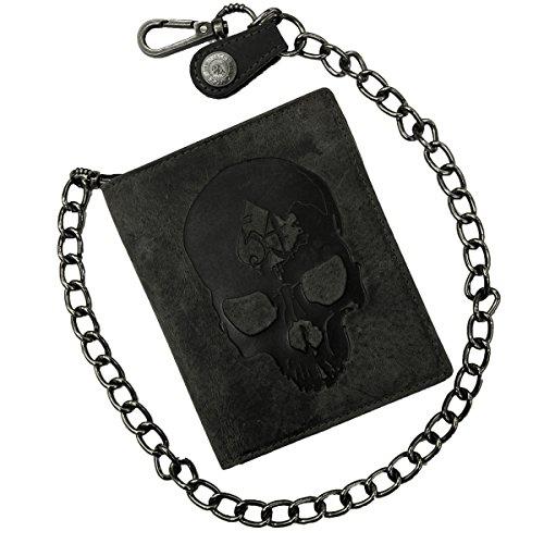 Jack's Inn 54 Rock Hard Styles Havanna - Cartera con cadena, color negro