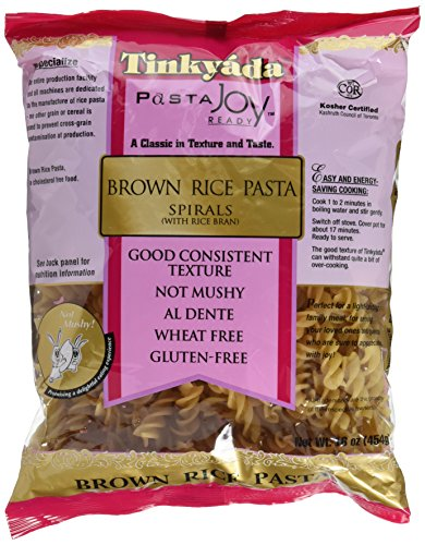 Tinkyada Spirals Brown Rice Pasta (3x16 oz.)