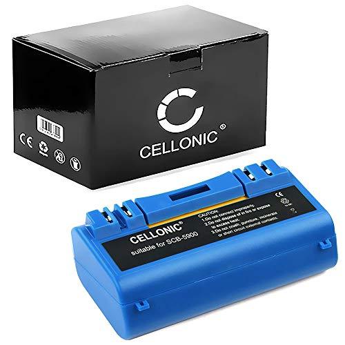 CELLONIC® Batteria Ricambio 14.4VNiMH 3600mAh Compatibile con iRobot Scooba 390/385/ 300/330/ 340/350 pila 14904 Sostituzione