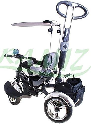 BSD Dreirad Sport Trike KR03 AIR- ab 1 - 5 Jahren - Kinderdreirad - Erstes Fahrrad - Kinderfahrrad - Babyfahrrad - Kinderfahrzeuge - Graphit