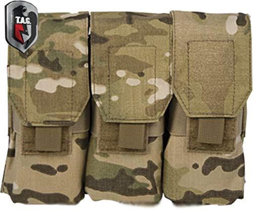 Tactical Assault Gear MOLLE M16 Mag 6 Pouch, Multicam 812028