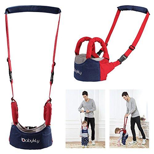 Xrten Baby Sicherheit Walking Assistant Gürtel,Lauflernhilfe mit Verstellbarem Gurt für Baby 8-18 Monate