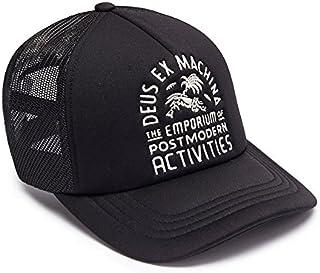 DEUS EX MACHINA (デウス エクス マキナ) メッシュキャップ 帽子 LA VENICE EMPORIUM TRUCKER - BLACK DMP77636C 【C1】