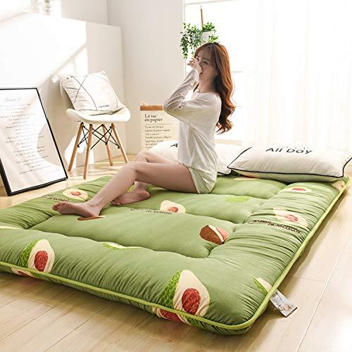 LXSHMF Quilting Sleeping Tatami Floor Mat,Traditional Japanese Futon Mattress,Thick Tatami Mattress Bed Foldable Sleeping Pad Quilted Mattress Topper