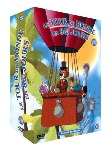 Tour du Monde en 80 Jours (Le) -Saison 1-Partie 1-Coffret 4 DVD-VF
