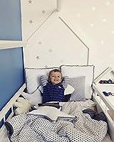 completo letto&casa+materasso ECO,stile scandinavo,bambino 160x80cm+sponde (colore del letto: bianco) #7