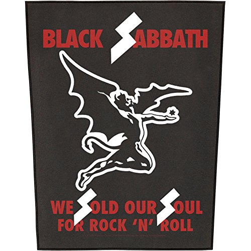 BLACK SABBATH WE SOLD OUR SOULS Backpatch