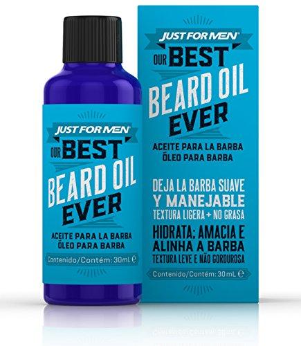 JUST FOR MEN - Olio per la cura quotidiana della barba, 30 ml