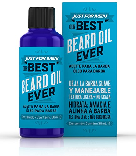 Just for Men Aceite para la Barba – Aceite para el cuidado diario de la Barba