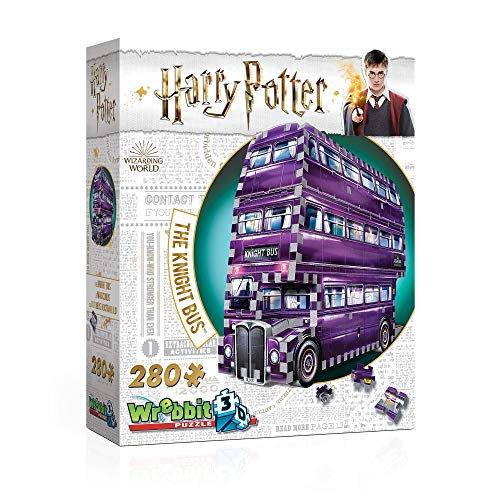 Wrebbit 3D - Harry Potter The Knight Bus 3D Jigsaw Puzzle - 280Piece