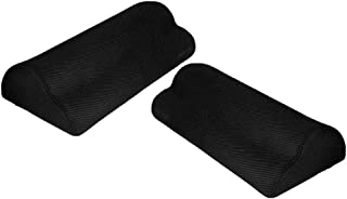 Perfk 2pcs Foot Rest Under Desk, Soft Foam Foot Cushion Under Desk Foot Stool Pillow for Office and Home Accessories,Non-S...