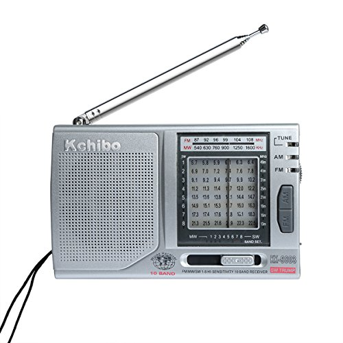 Am Fm Radios Portable Outdoor Radio - iHeoco 10 Bands Transister Am Fm Radios with Built-in 3.5mm Headphone Jacket Good Reception Folding Stand Up Kickstand High Sensitive Radio