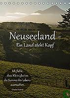 Neuseeland - Ein Land steht Kopf (Tischkalender 2022 DIN A5 hoch): Kommen Sie mit auf eine atemberaubende Reise zur Nord- und Suedinsel Neuseelands. Lassen Sie sich von der Vielfalt dieses kleinen Landes verzaubern. (Monatskalender, 14 Seiten )
