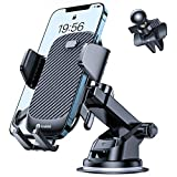 [Upgraded] Andobil Car Phone Mount, [Ultra-Stable & Strong Suction] Adjustable Long Arm Phone Holder for Car Dashboard, Air Vent, Windshield Compatible with All Heavy Big Phones & Thick Case