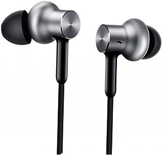 Xiaomi Mi Qtej02Jy Original Circle Iron Hybrid Earphone Headphone Headset Earbud In-Ear Remote & Mic-Silver Pro Hd Versio...