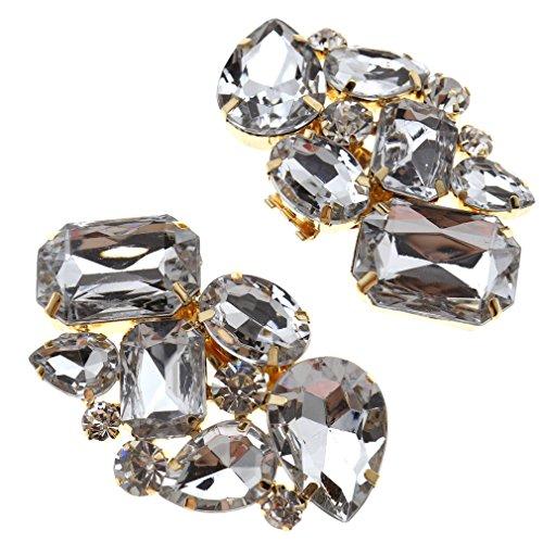 Decoración de cristal con clip para botas o tacones, para bodas, novias,...